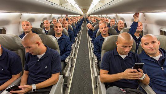 어느 항공사 직원이 찍은 엄청난