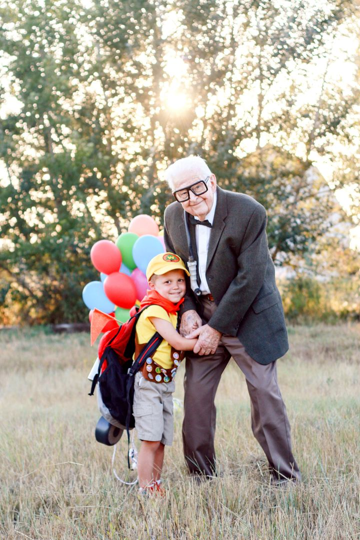 """Perman said her grandpa was """"thrilled to participate."""""""