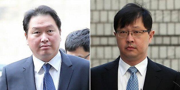 SK그룹 최태원 회장과 최재원