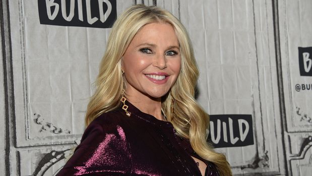 """Model Christie Brinkley participates in the BUILD Speaker Series to discuss the """"Milestones of Me"""" campaign at AOL Studios on Tuesday, Jan. 29, 2019, in New York. (Photo by Evan Agostini/Invision/AP)"""