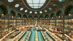 로마, 파리, 보스턴의 장대한 도서관들