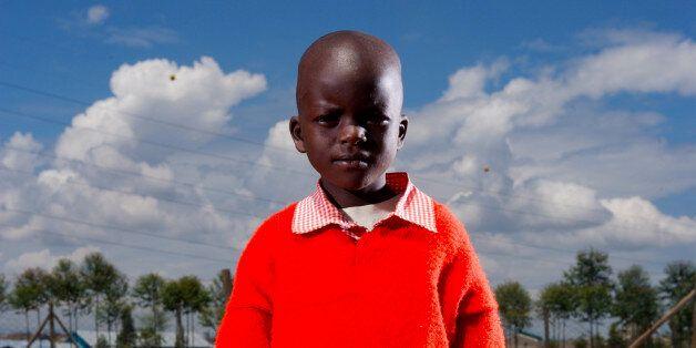 에이즈에 감염된 케냐 나이로비의
