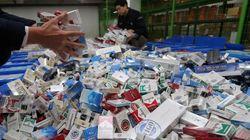 담배밀수 올해에만 700억원