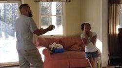 아빠와 딸의 힙합댄스