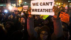 뉴욕 인종차별 시위 대규모 확산