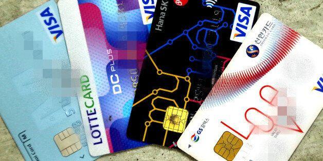 카드사, 현금서비스·카드론 금리