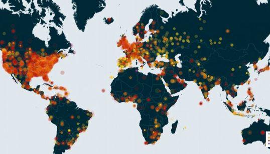 에릭 가너와 마이클 브라운 사태에 대한 전 세계의 분노
