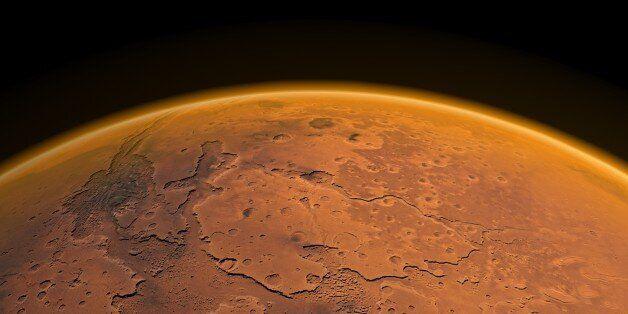 화성이 핵전쟁으로 멸망했다는 이론이
