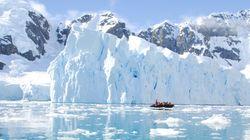 에베레스트산 10개 분량 남극 빙하,