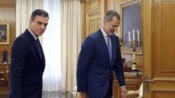 El rey no propone candidato a la investidura y aboca a una repetición electoral el