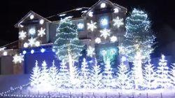 최고의 크리스마스 전구쇼는 '렛잇고'다!