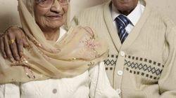 87년간 결혼생활을 한 부부의
