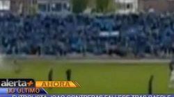 페루 축구선수, 경기 중 번개