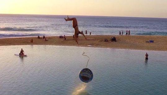 하와이에 놀라운 자연 수영장이 생겼다!