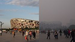 베이징의 놀라운 'APEC용 푸른