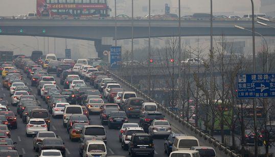 베이징 'APEC 블루', 자취를 감추다