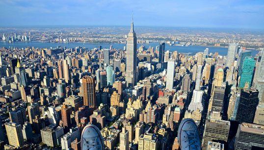 맨해튼 상공은 이런 풍경이다! (사진,