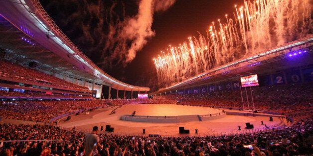 제17회 인천 아시안게임 개막식이 9월 19일 인천아시아드주경기장에서