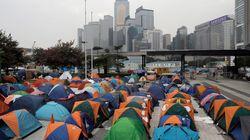 홍콩 경찰 시위대 해산
