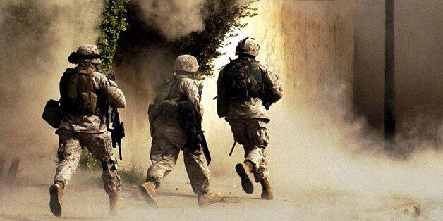 이라크군-IS, 이라크 중원 놓고