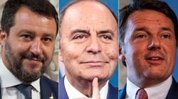 Renzi sfida Salvini a duello tv. Il leader leghista manda un whatsapp a Vespa: