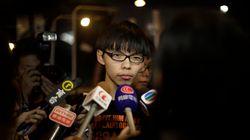 홍콩 학생시위대 대표