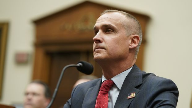 Corey Lewandowski, U.S. President Donald Trump's former campaign manager and close confidant, is seated to testify before the U.S. House Judiciary Committee's first hearing of their impeachment investigation on Capitol Hill in Washington, U.S., September 17, 2019. REUTERS/Joshua Roberts