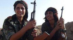 쿠르드족 여자들이 여전사가 된