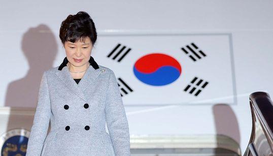 [화보]박근혜 대통령 중국 도착, FTA