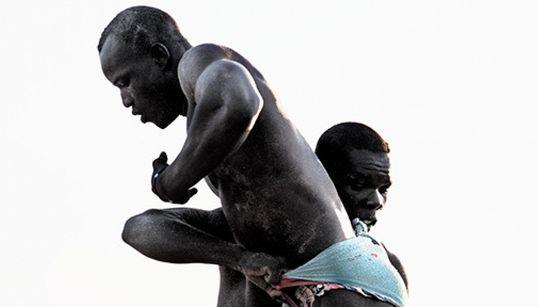 세네갈의 아름다운 프로