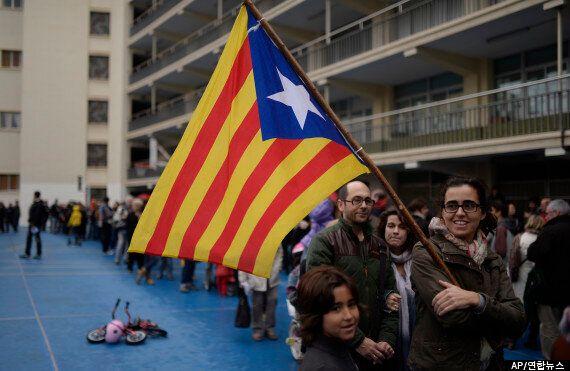 카탈루냐, 분리독립 묻는 비공식 투표