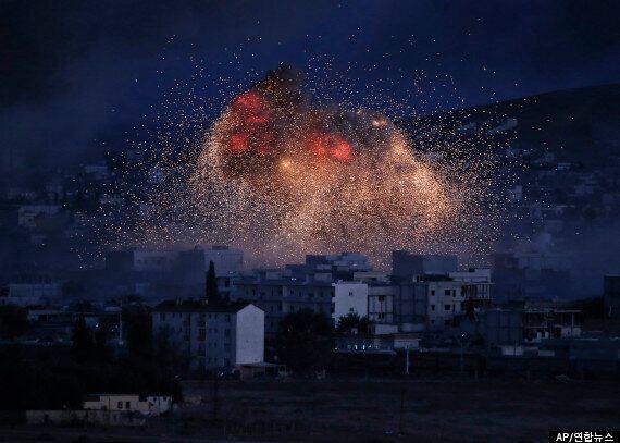 미국 주도 국제군, 이슬람반군에도 공습