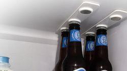 맥주를 냉장고에 최대한 많이 넣는