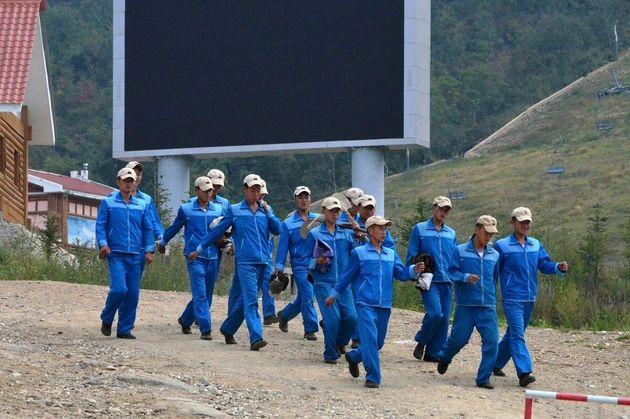 나의 북한 방문기 4편 | 2018년 여기서도 올림픽 경기가
