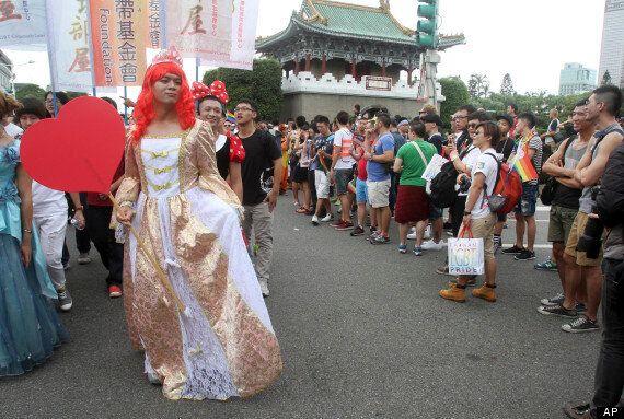 대만서 아시아 최대 동성애자