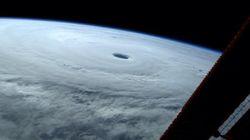 일본 열도로 다가가는 초슈퍼태풍