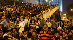 홍콩 시위 보름째, 정부 무력진압