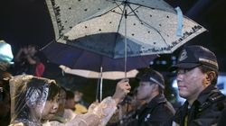 홍콩 가수들의 '우산 혁명'