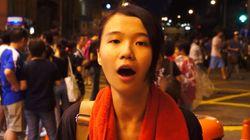 홍콩 민주화시위에 나선 여대생의 메시지