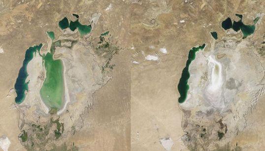 세계에서 4번째로 컸던 호수 '아랄해',