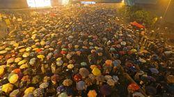[르포]홍콩 도심을 메운 민주주의의