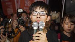홍콩 '우산혁명'의 주역 17세 조슈아