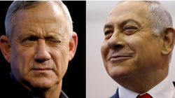 Netanyahu et Gantz à égalité après le dépouillement quasi