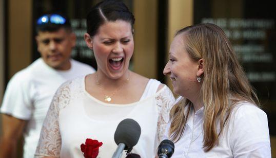 미국, 동성결혼을 합법화