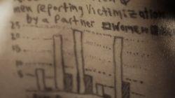 여성을 향한 폭력 통계를 여성의 몸에