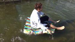 '질소과자' 배로 만들면 실제로 뜬다?