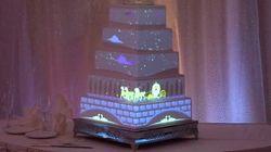 디즈니가 웨딩 케이크를 만든다면?
