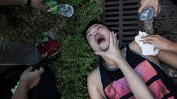거리로 나온 홍콩의