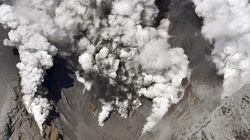 화산분화로 일본 원전 재가동 정책에 불안