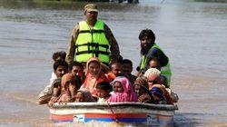 인도·파키스탄 1주일째 물난리에 사망자 400명